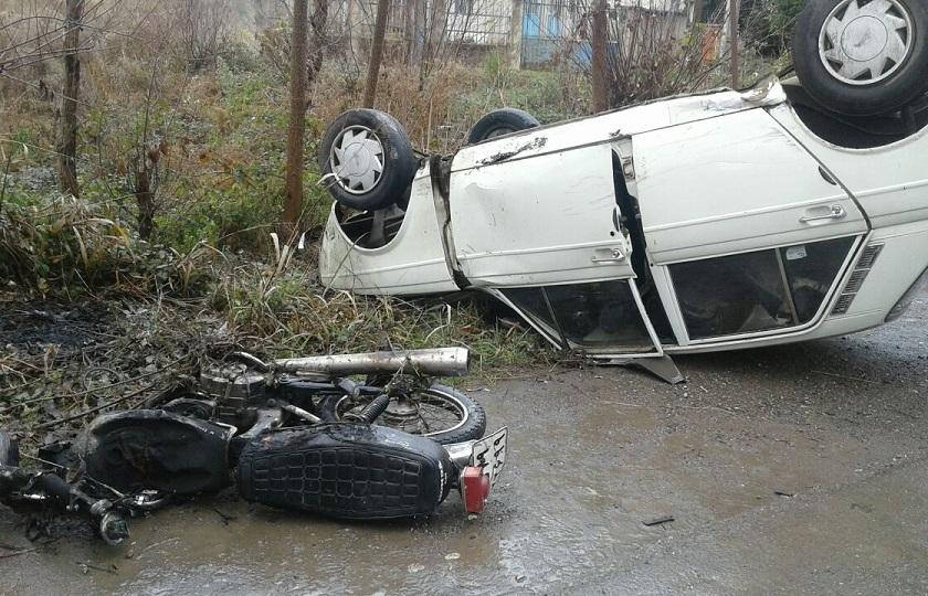 سهم 15 تا 20 درصدی تصادفات ساختگی از مجموع تصادفات