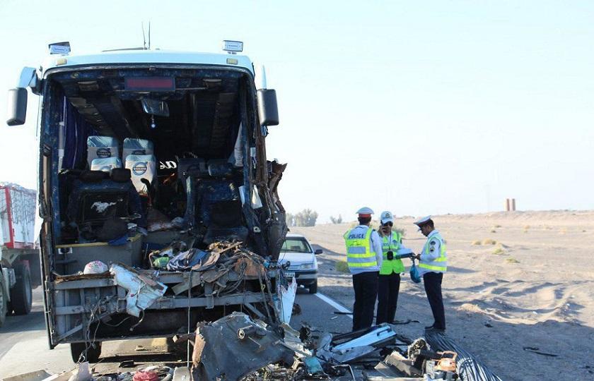 روزانه 45 تا 55 نفر در تصادفات جان خود را ازدست میدهند