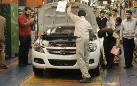 ۴ واحد تولیدی خودرو کرمان تعطیل شدند