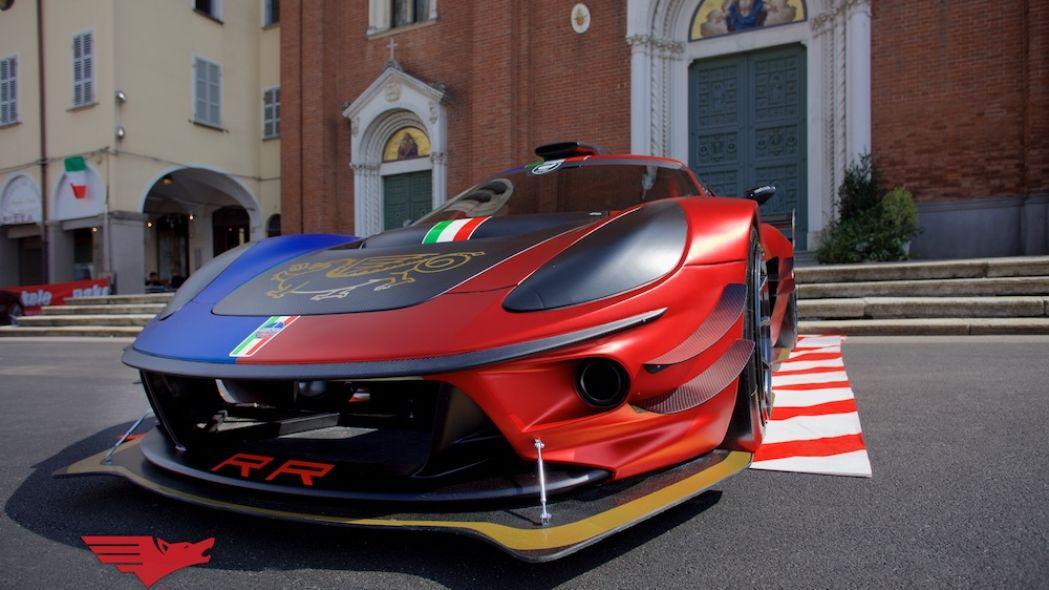 رونمایی از خودروی مسابقهای 600 اسب بخاری ATS Corsa + تصاویر