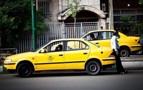 جریمه تاکسیها به خاطر بی حجابی مسافران
