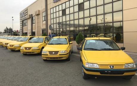 طرح نوسازی ۱۰ هزار تاکسی با محصولات ایران خودرو آغاز شد