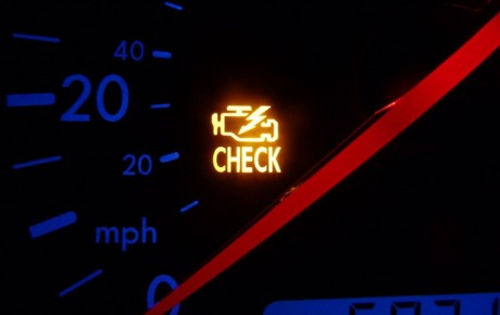 دلیل روشن شدن چراغ چک خودرو چیست؟