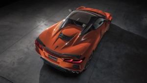 شورولت کوروت C8 کانورتیبل مدل 2020 رونمایی شد + تصاویر
