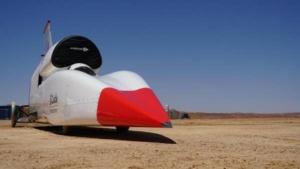 برنامه ابرخودروی بلادهاند برای تست سرعت جدید در آفریقای جنوبی