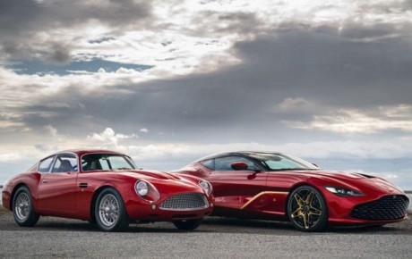 استون مارتین DBS GT زاگاتو مدل ۲۰۲۰ رونمایی شد + تصاویر
