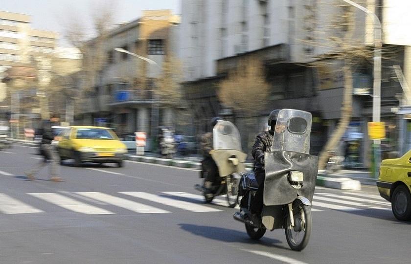 آغاز طرح ساماندهی ترافیکی موتورسیکلت سواران