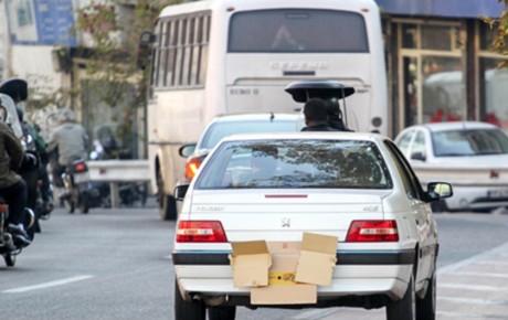 مجازات پوشاندن پلاک خودرو چیست؟