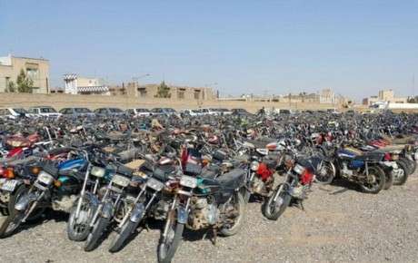 موتورسیکلتهای اسقاطی به خیابانها بازگشتند