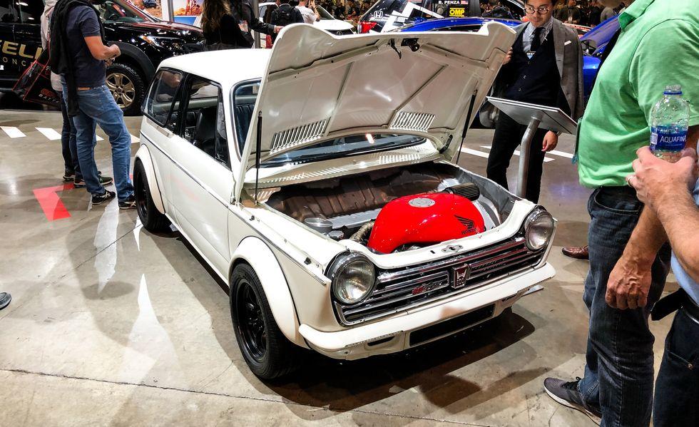 هوندا N600 مدل 1972
