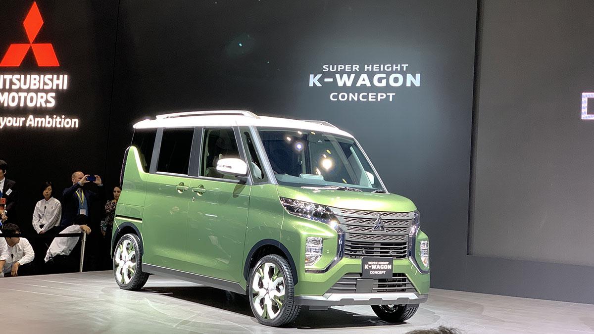 کانسپت میتسوبیشی Super Height K-Wagon