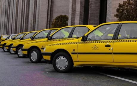 آغاز تحویل تاکسیهای جدید در تهران