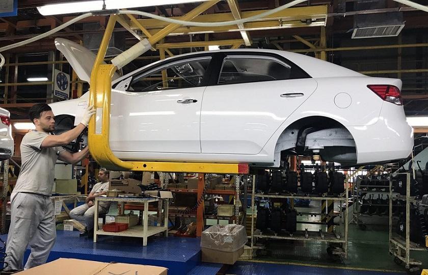 افت شدید تولید خودرو