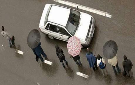 سوار خودروهای پلاک شخصی نشوید