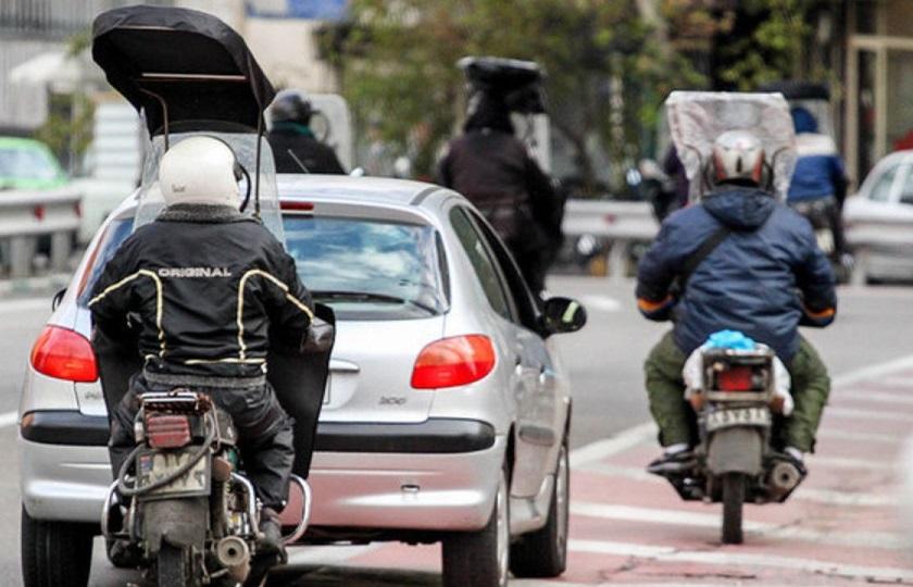 موتورسیکلتها از جنبه رعایت قوانین و مقررات رها شدهاند