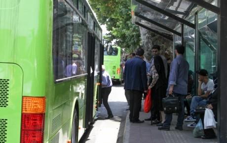 اتوبوسهای بخش خصوصی برچسب کرایه را عوض نمیکنند