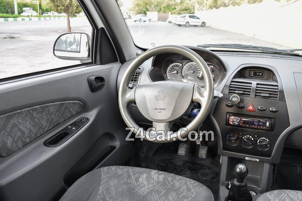 رانندگی با تیبا هاچبک