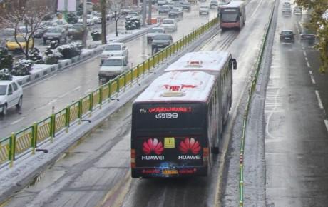 طرح زمستانی شرکت واحد اتوبوسرانی