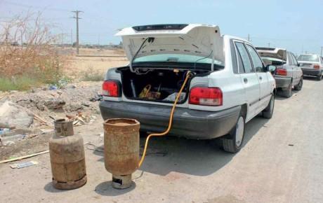 مصرف گاز مایع برای سوخت خودرو ممنوع است