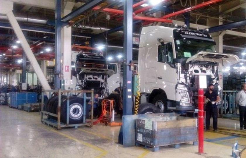 کاهش 69 درصدی تولید خودروهای سنگین