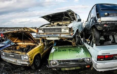۹۵ درصد مراکز اسقاط خودرو تعطیل هستند
