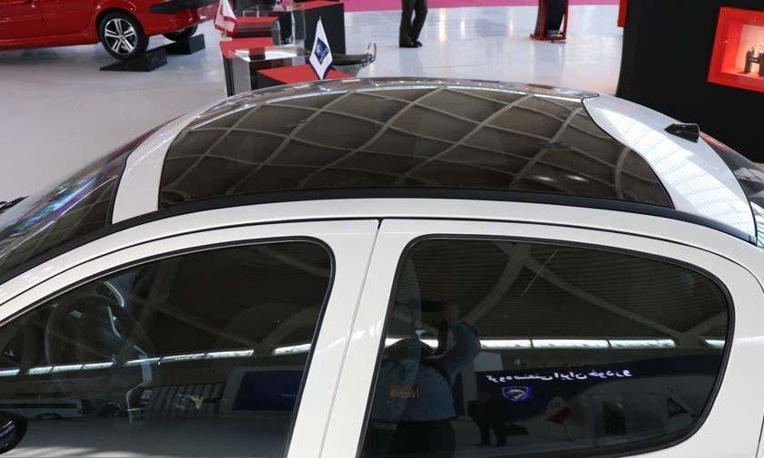 پژو 207 سقف شیشه ای پانوراما