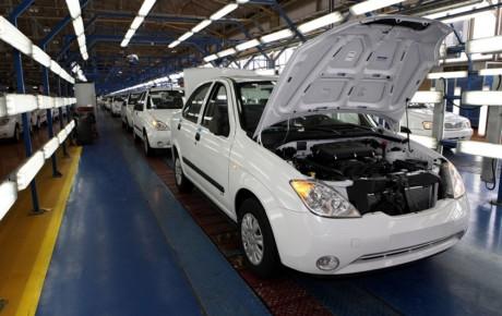 افت 18 درصدی تولید خودرو