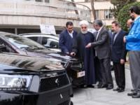 رونمایی 4 خودرو جدید در حاشیه جلسه هیات دولت