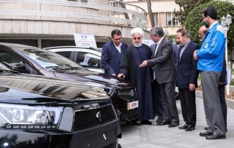 رونمایی ۴ خودرو جدید در حاشیه جلسه هیات دولت