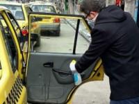 ضد عفونی تاکسیهای شهرداری فردیس