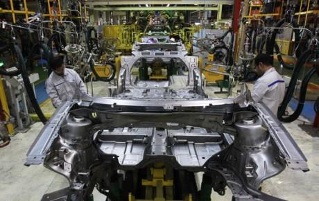 کاهش 18.8 درصدی تولید خودرو