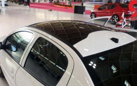 پژو ۲۰۷ صندوقدار سقف شیشه ای