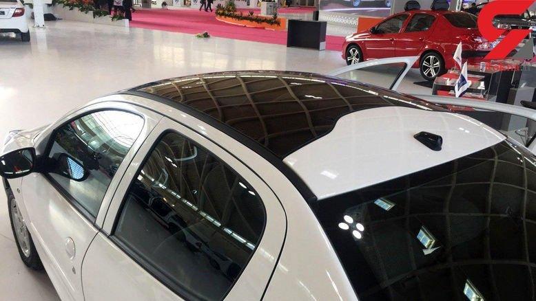 پژو 207 صندوقدار سقف شیشه ای