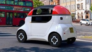 رونمایی از خودروی الکتریکی شرکت گوردون ماری دیزاین