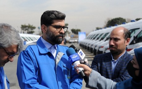 تحویل ۳۶ دستگاه آمبولانس توسط ایران خودرو