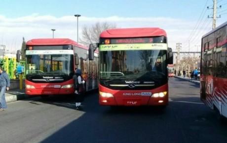 تعداد اتوبوسها کاهش نیافته است