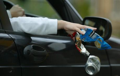 جریمه پرتاب زباله و شست و شوی خودرو
