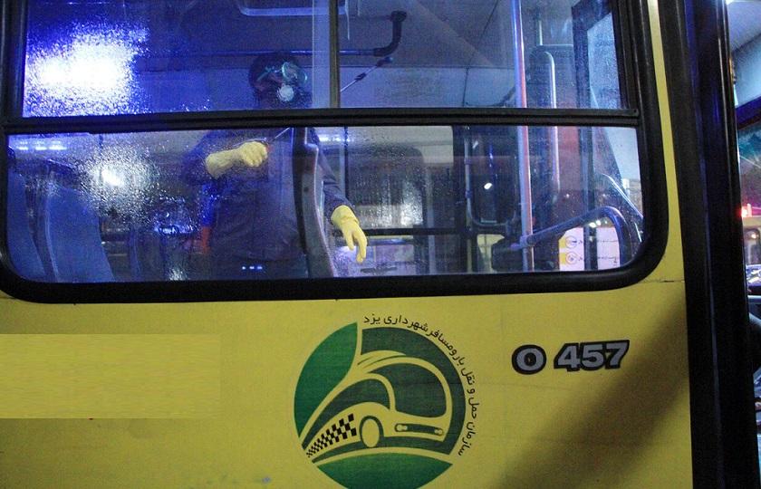 خطوط اتوبوسرانی یزد تعطیل شد