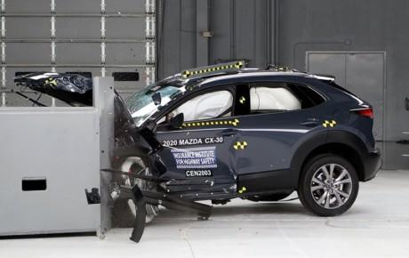 کسب نمره ایمنی Top Safety Pick توسط مزدا CX-30