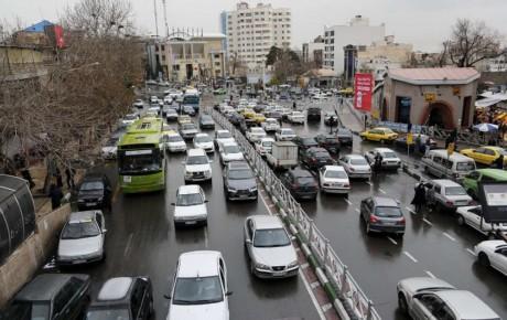 افزایش ۷۰ درصدی ترافیک تهران