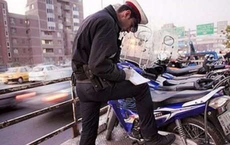 ترخیص موتورسیکلتهای توقیفی در مراکز پلیس +۱۰