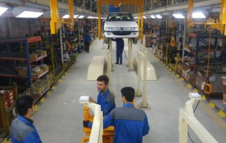 تولید روزانه ۸۵ دستگاه خودرو پژو پارس در شیراز
