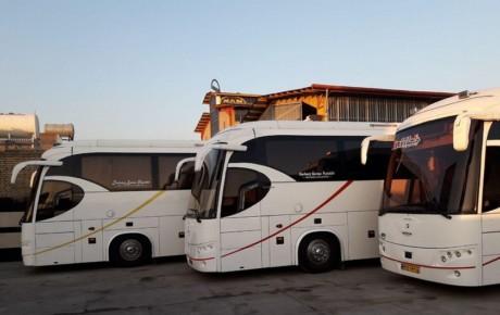 ورود اتوبوسهای بین شهری به ناوگان حمل و نقل درون شهری