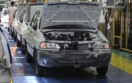 افت 14.5 درصدی تولید خودرو در سال 98
