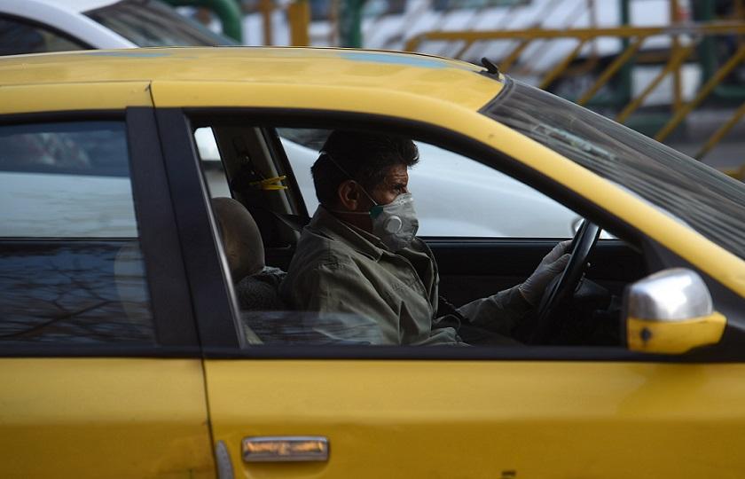 میخ کرونا زیر چرخ تاکسیها