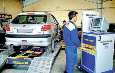 علت مردودی ۱۸ درصد خودروها در معاینه فنی