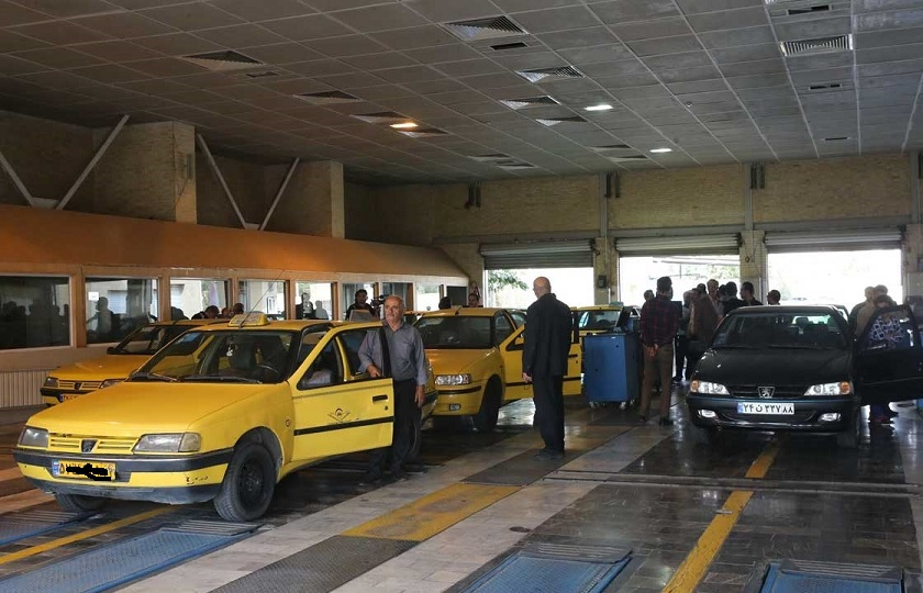 مردودی 44 درصد تاکسیها در آزمون معاینه فنی