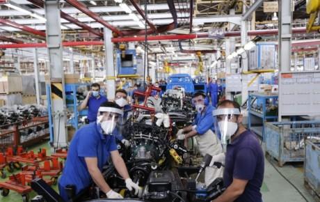 بهبود تولید خودروهای تجاری در بهار