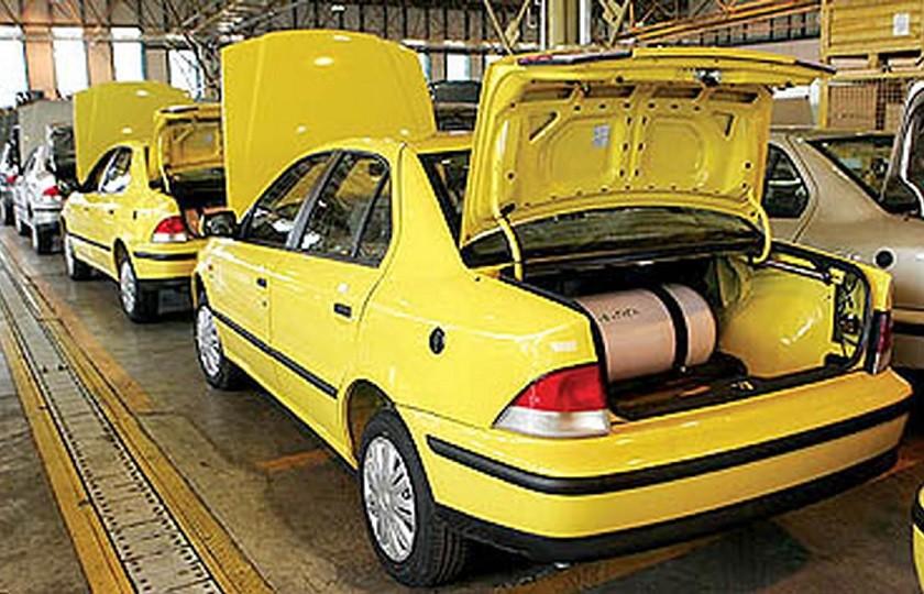 تصویب شماره گذاری 5000 دستگاه تاکسی گازسوز با استاندارد یورو 4