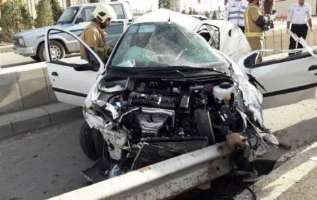 مصدومیت ۲۱ هزار نفر در تصادفات تهران